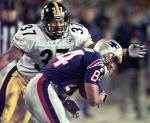 1997, Steelers DB Carnell Lake: 43 tackles, 6 sacks, 3 INT, 2 forced fumbles