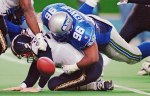 1992, Seahawks DT Cortez Kennedy: 92 tackles, 14 sacks, 4 forced fumbles