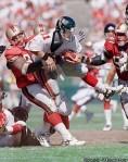 1997, 49ers DT Dana Stubblefield: 48 tackles, 15 sacks, 3 forced fumbles