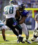 2003, Ravens LB Ray Lewis: 121 tackles, 6 INT, 1.5 sacks, 2 forced fumbles, 1 TD